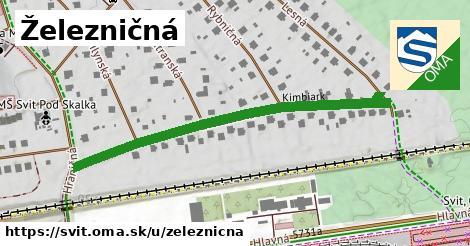 ilustrácia k Železničná, Svit - 533m