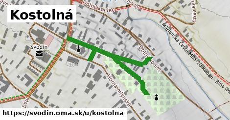 ilustrácia k Kostolná, Svodín - 442m