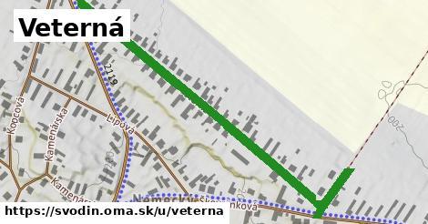 ilustrácia k Veterná, Svodín - 692m