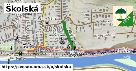 ilustrácia k Školská, Švošov - 167m