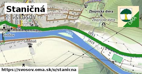 ilustrácia k Staničná, Švošov - 1,94km