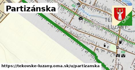 ilustrácia k Partizánska, Tekovské Lužany - 1,31km