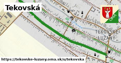ilustrácia k Tekovská, Tekovské Lužany - 1,17km