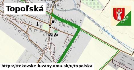 ilustrácia k Topoľská, Tekovské Lužany - 0,85km