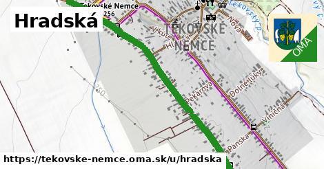 ilustrácia k Hradská, Tekovské Nemce - 1,26km