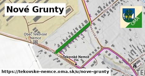 ilustrácia k Nové grunty, Tekovské Nemce - 481m