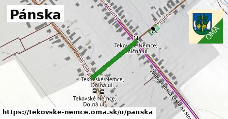 ilustrácia k Pánska, Tekovské Nemce - 419m