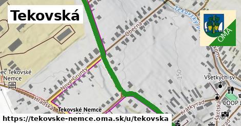 ilustrácia k Tekovská, Tekovské Nemce - 417m