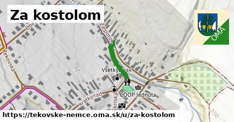 ilustrácia k Za kostolom, Tekovské Nemce - 132m