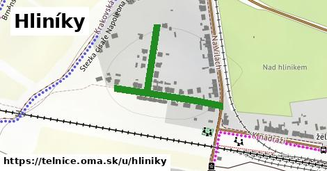 ilustrácia k Hliníky, Telnice - 403m