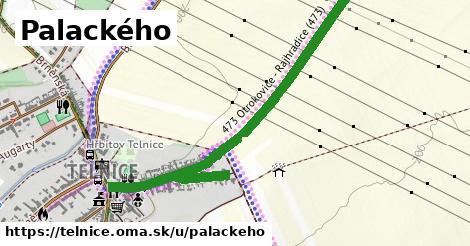 ilustrácia k Palackého, Telnice - 1,25km
