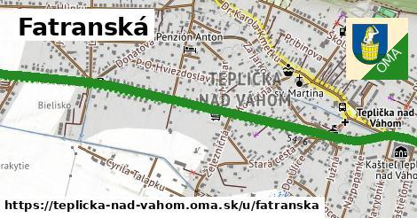 ilustrácia k Fatranská, Teplička nad Váhom - 2,2km