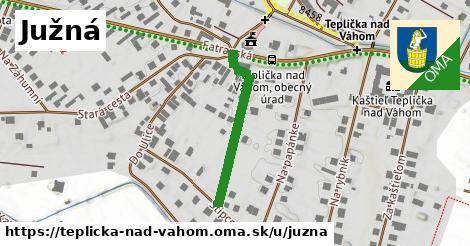 ilustrácia k Južná, Teplička nad Váhom - 264m