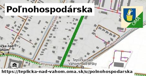 ilustrácia k Poľnohospodárska, Teplička nad Váhom - 308m
