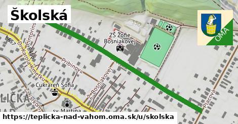 ilustrácia k Školská, Teplička nad Váhom - 611m