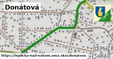 ilustrácia k Donátová, Teplička nad Váhom - 593m
