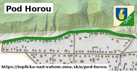 ilustrácia k Pod Horou, Teplička nad Váhom - 0,72km