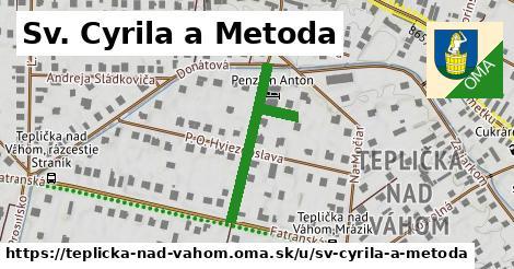 Sv. Cyrila a Metoda, Teplička nad Váhom