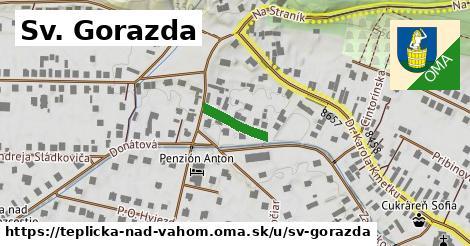 ilustrácia k Sv.Gorazda, Teplička nad Váhom - 114m