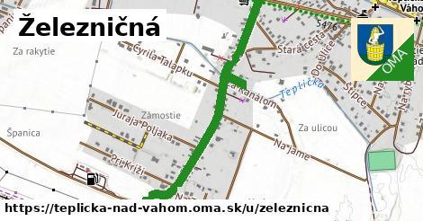ilustrácia k Železničná, Teplička nad Váhom - 0,95km