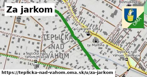 ilustrácia k Za jarkom, Teplička nad Váhom - 630m