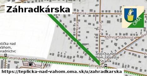 ilustrácia k Záhradkárska, Teplička nad Váhom - 373m