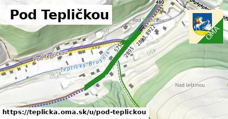 ilustrácia k Pod Tepličkou, Teplička - 304m