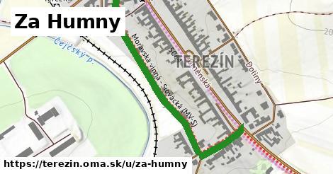 ilustrácia k Za Humny, Terezín - 575m