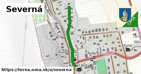 ilustrácia k Severná, Terňa - 157m