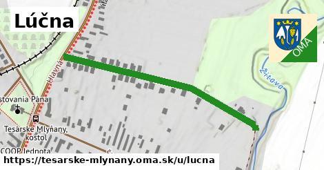 ilustrácia k Lúčna, Tesárske Mlyňany - 490m