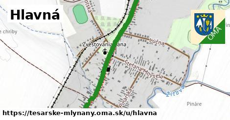 ilustrácia k Hlavná, Tesárske Mlyňany - 2,9km