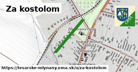 ilustrácia k Za kostolom, Tesárske Mlyňany - 238m
