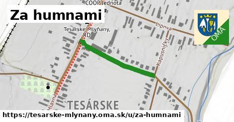 ilustrácia k Za humnami, Tesárske Mlyňany - 266m