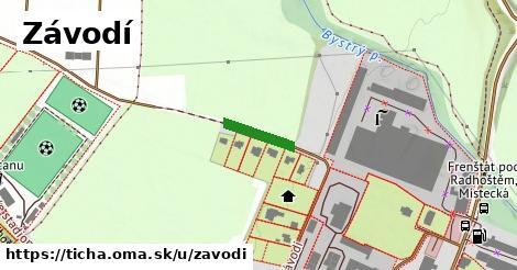 ilustrácia k Závodí, Tichá - 30m