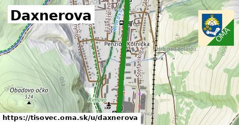 ilustrácia k Daxnerova, Tisovec - 1,67km