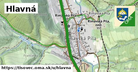 ilustrácia k Hlavná, Tisovec - 1,40km