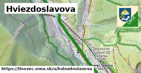 ilustrácia k Hviezdoslavova, Tisovec - 1,75km