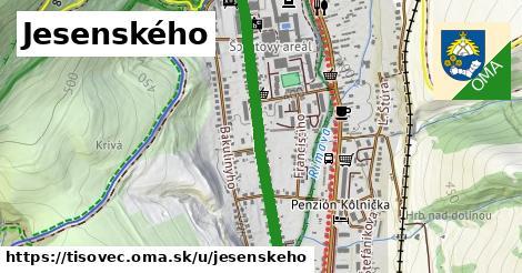 ilustrácia k Jesenského, Tisovec - 0,94km
