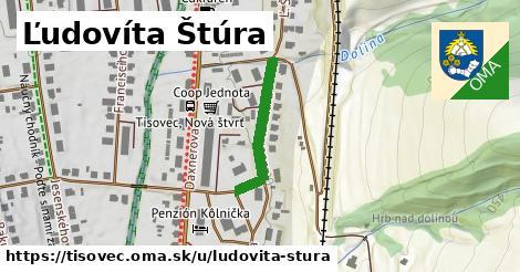 ilustrácia k Ľudovíta Štúra, Tisovec - 380m