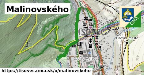 ilustrácia k Malinovského, Tisovec - 663m
