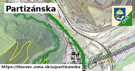 ilustrácia k Partizánska, Tisovec - 0,90km
