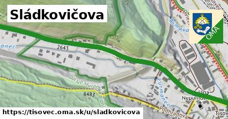ilustrácia k Sládkovičova, Tisovec - 0,88km
