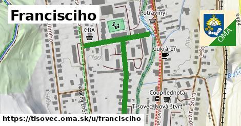 ilustrácia k Francisciho, Tisovec - 504m