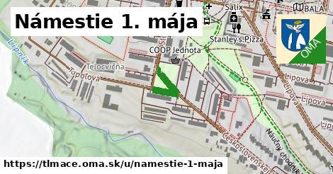 ilustrácia k Námestie 1. mája, Tlmače - 134m