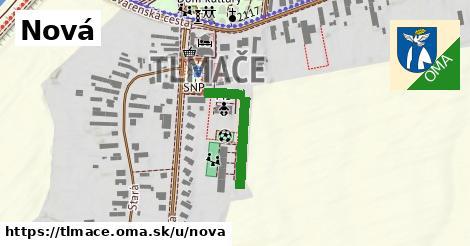 ilustrácia k Nová, Tlmače - 215m