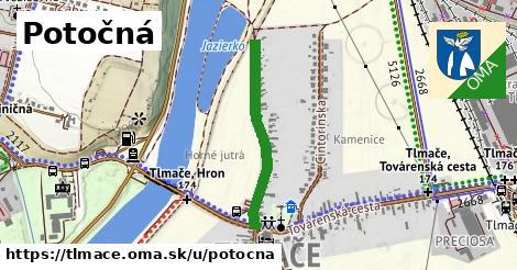 ilustrácia k Potočná, Tlmače - 548m