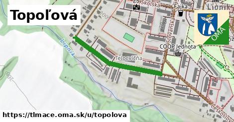 ilustrácia k Topoľová, Tlmače - 305m