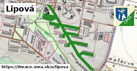 ilustrácia k Lipová, Tlmače - 1,11km