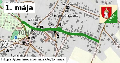ilustrácia k 1. mája, Tomášov - 536m