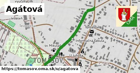 ilustračný obrázok k Agátová, Tomášov